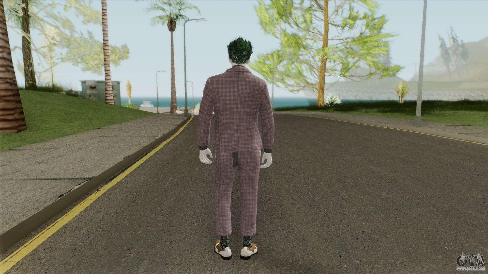 Joker 2019 Skin for GTA San Andreas