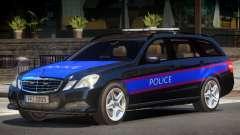 Mercedes E350 Police V1.0 for GTA 4