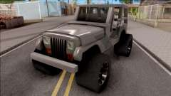 Jeep Wrangler 4x4 XL for GTA San Andreas