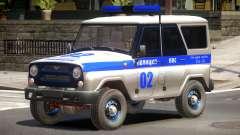 UAZ 315195 Police for GTA 4