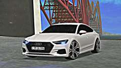 Audi A7 2020 Armenia for GTA San Andreas