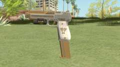 Pistol .50 GTA V (Luxury) Flashlight V2 for GTA San Andreas