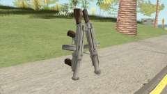 Big Double Submachine Gun for GTA San Andreas