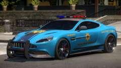 Aston Martin Vanquish Police V1.3 for GTA 4