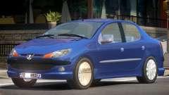Peugeot 206 V1.0 for GTA 4