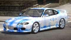 Nissan Silvia S15 RS PJ1 for GTA 4