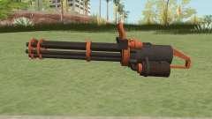 Coil Minigun (Orange) GTA V for GTA San Andreas