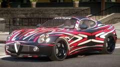 Alfa Romeo 8C V1.0 PJ5 for GTA 4