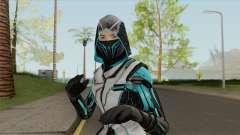 Ninja Azul (Free Fire) for GTA San Andreas