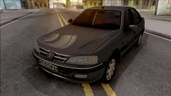 Peugeot Pars with Dashboard ELX for GTA San Andreas