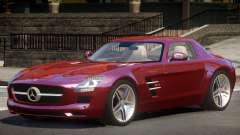 Mercedes Benz SLS 63 ST for GTA 4