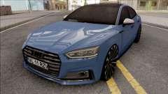 Audi S5 Blue for GTA San Andreas