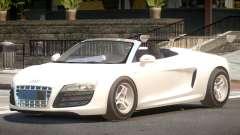 Audi R8 Spyder V1.1 for GTA 4