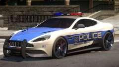 Aston Martin Vanquish Police V1.1 for GTA 4