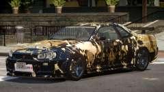 Nissan Skyline R34 V1.2 PJ3 for GTA 4