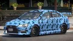 Mitsubishi Lancer X Tuned PJ3 for GTA 4