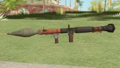 Rocket Launcher GTA V (Orange) for GTA San Andreas