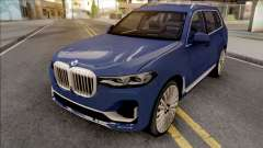 BMW X7 2020 Low Poly