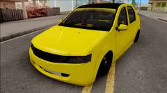 Dacia Logan 2004 Minion Edition for GTA San Andreas