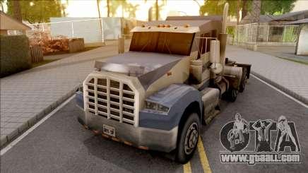 Paulton Semi Truck NFS MW for GTA San Andreas