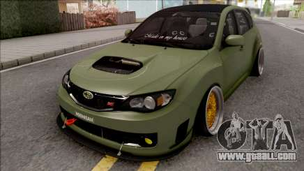 Subaru Impreza WRX STI 2009 for GTA San Andreas