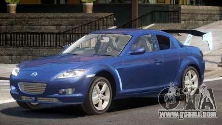 Mazda RX8 Tuning for GTA 4
