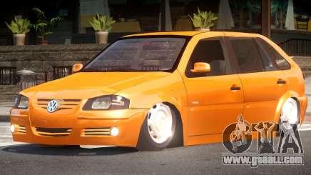 Volkswagen Gol G4 Custom for GTA 4