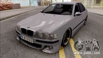 BMW M5 E39 Romanian Plate for GTA San Andreas