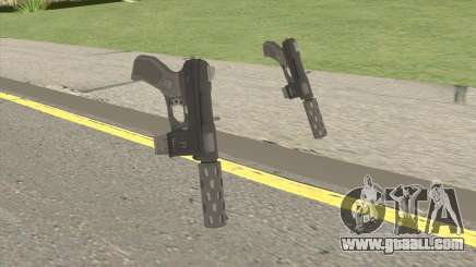 Vom Feuer Machine Pistol GTA V for GTA San Andreas
