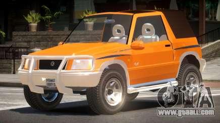 Suzuki Vitara Custom for GTA 4