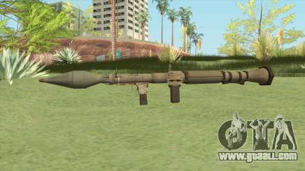 Rocket Launcher GTA V (Army) for GTA San Andreas