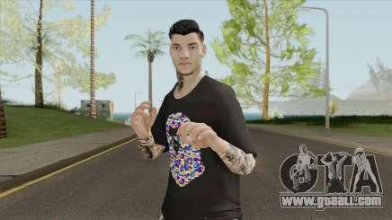 Ederson Moraes for GTA San Andreas