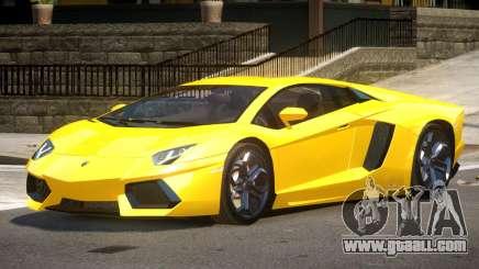 Lamborghini Aventador SS for GTA 4