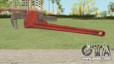 Pipe Wrench GTA V HQ for GTA San Andreas
