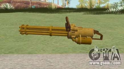 Coil Minigun (Gold) GTA V for GTA San Andreas