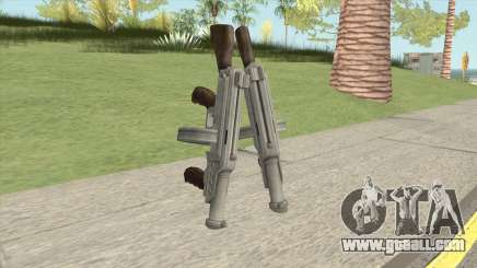 Big Double Submachine Gun for GTA San Andreas