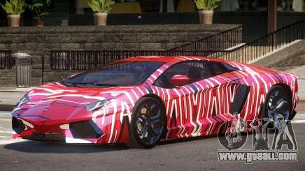 Lamborghini Aventador SS PJ5 for GTA 4
