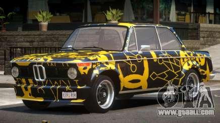 BMW 2002 GT PJ1 for GTA 4