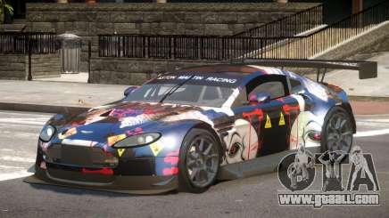 Aston Martin Vantage GT-R PJ3 for GTA 4