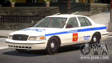Ford Crown Victoria Police V1.3 for GTA 4