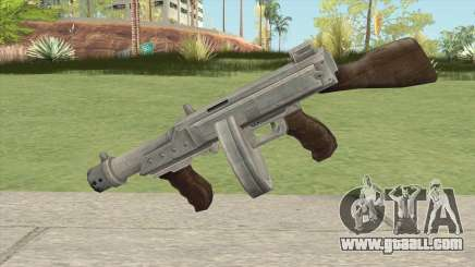 Big Submachine Gun for GTA San Andreas