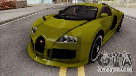 Bugatti Veyron 3B 16.4 for GTA San Andreas