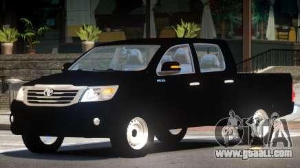 Toyota Hilux V1.0 for GTA 4