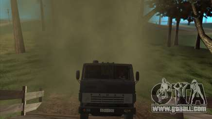 The sound of the engine KAMAZ-740 for GTA San Andreas