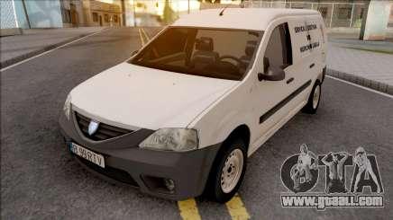 Dacia Logan MCV Van 2008 Medicina Legala for GTA San Andreas
