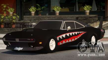 Dodge Charger RT Tuned for GTA 4