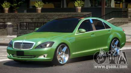 Mercedes Benz S500 W221 V1.0 for GTA 4