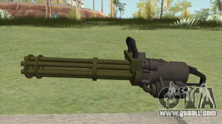 Coil Minigun (Green) GTA V for GTA San Andreas