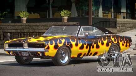 1968 Dodge Charger RT PJ3 for GTA 4