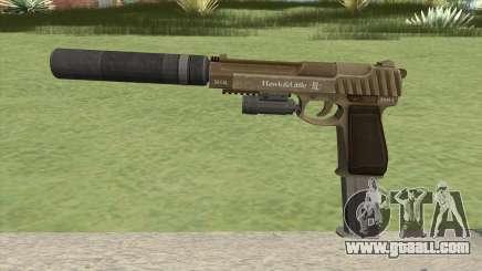 Pistol .50 GTA V (Army) Full Attachments for GTA San Andreas